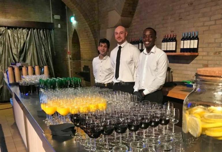 Drankarrangement Bar and Barista hospitality