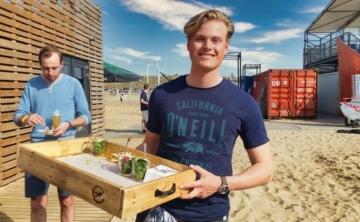 Horeca Barman op het strand